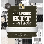 "Scrapbook Kit In A Stack 8""X8"" Wedding at Kmart.com"