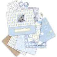 "K&Company Postbound Scrapbook Kit Boxed 12""X12"" Little House Baby Boy at Kmart.com"