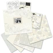 "K&Company Postbound Scrapbook Kit Boxed 12""X12"" Classic Wedding at Sears.com"
