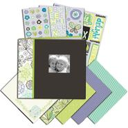 "K&Company Mega Scrapbook Kit 8.5""X8.5"" Black & White at Sears.com"
