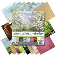 "Paper House Double Sided Paper Pad 12""X12"" 24/Sheets Nature at Kmart.com"