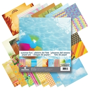 "Paper House Double Sided Paper Pad 12""X12"" 24/Sheets Summer Fun at Kmart.com"