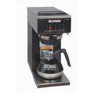 Bunn VP17-1 Low Profile Commercial Pourover Coffee Brewer with 1 Warmer, Black at Sears.com