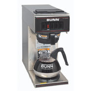 Bunn VP17-1 Low Profile Commercial Pourover Coffee Brewer with 1 Warmer, Stainless Steel at Sears.com