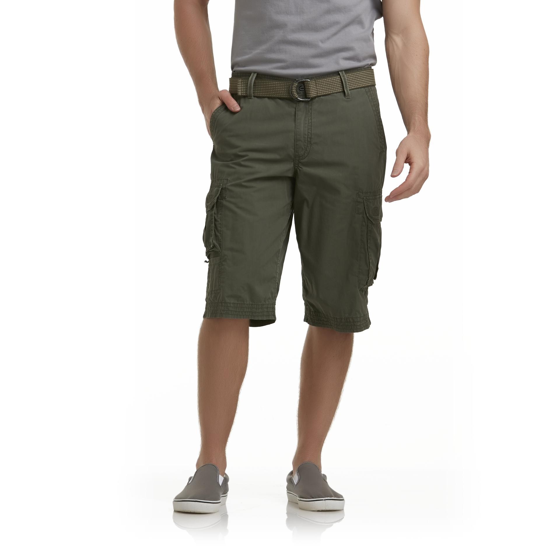 Route 66 Men's Cargo Shorts & Belt at Kmart.com