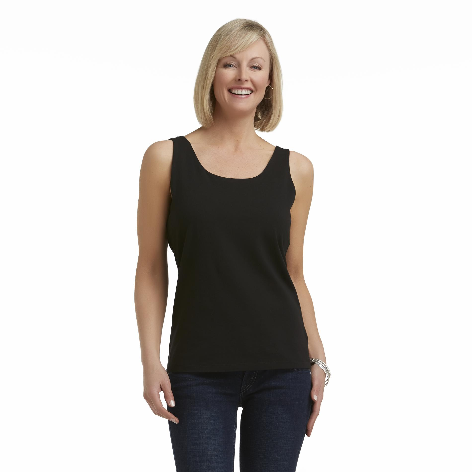 Laura Scott Women's Tank Top with Built-In Shelf Bra at Sears.com