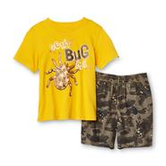 Toughskins Infant & Toddler Boy's Graphic T-Shirt & Shorts - Spider at Sears.com
