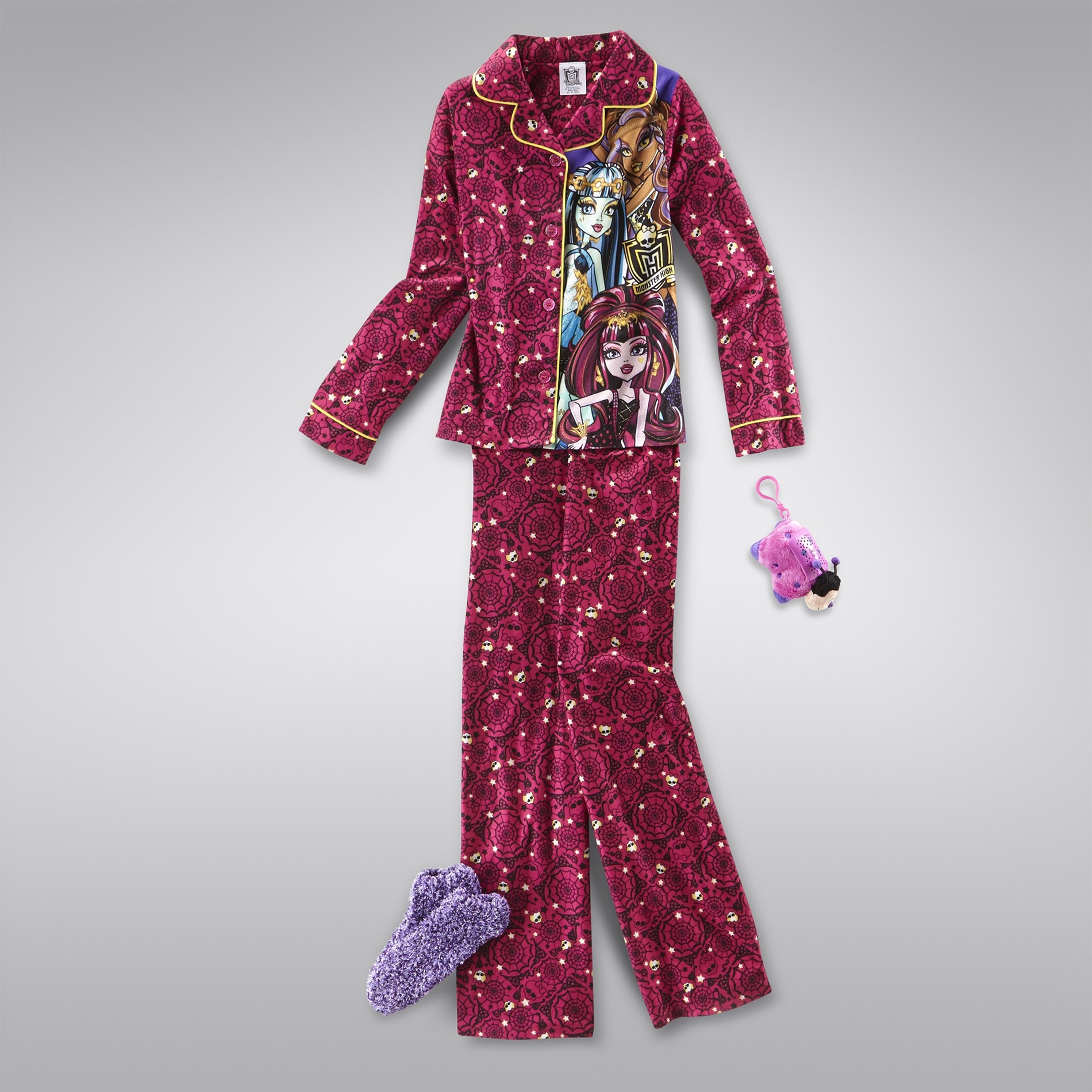 Girl's Spooky Sleepwear Outfit at Kmart.com
