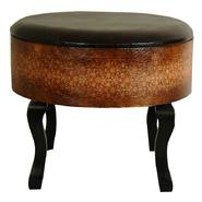 Oriental Furniture Olde-Worlde Vintage Ottoman/Stool at Kmart.com