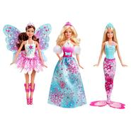 Barbie Fairytale Royal 3 Doll Giftset Doll at Sears.com