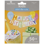 Paper House Mini Die Cuts 50+/Pkg Kids at Kmart.com