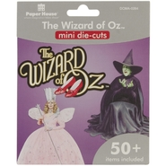 Paper House Mini Die Cuts 50+/Pkg Wizard Of Oz at Kmart.com