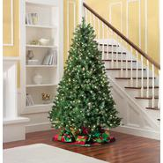 Donner and Blitzen 7.5' 600 Clear Light Pre-lit Kensington Pine Christmas Tree at Kmart.com