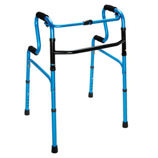 NEW HealthSmart® Sit-to-Stand Walker, Blue/Black