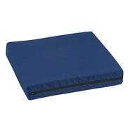 "DMI® Natural Pincore Wheelchair Cushion, Poly/Cotton Cover, Navy, 16"" x 18"" x 3"" at Kmart.com"