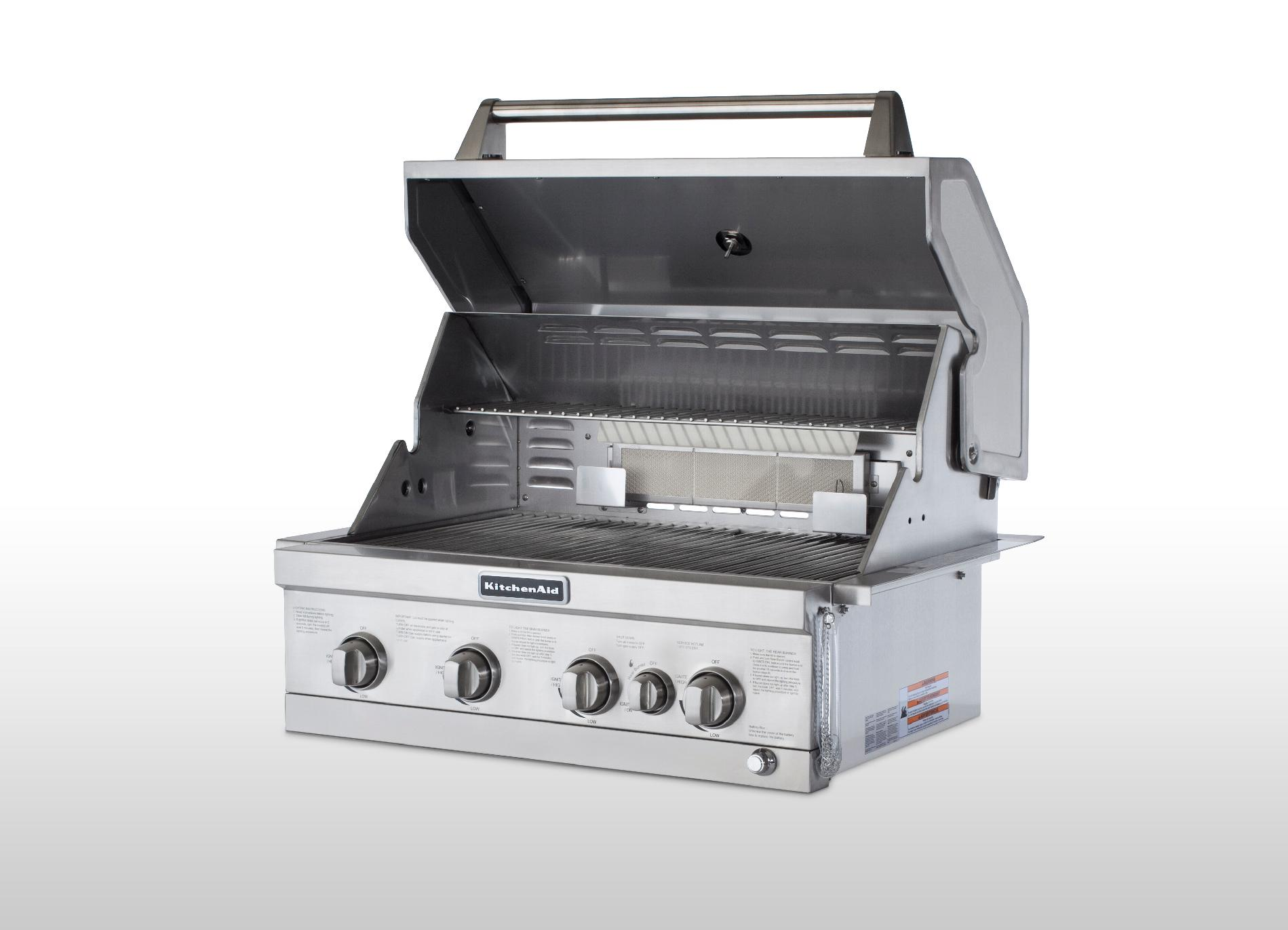 6 Burner Stainless Gas Grill: Big Outdoor Cooking Parties