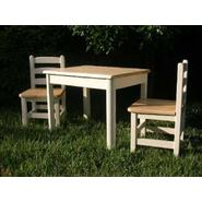 Apple Furniture Just For Kids Table and Chairs Set - Butter and Natural, Model# 47858 at Kmart.com