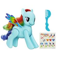 HASBRO My Little Pony Flip & Whirl Rainbow Dash Pony Figure at Sears.com