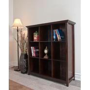 Simpli Home Acadian Collection Tobacco Brown 9 Cube Bookcase & Storage Unit at Kmart.com