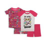 Joe Boxer Girl's Pajama Tops & Shorts - Kitty Cats at Kmart.com