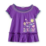 Toughskins Infant & Toddler Girl's Tunic Top - You Are My Sunshine at Sears.com