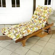 Greendale Home Fashions 72 inch Patio Chaise Lounger Cushion, Skyworks Multi at Kmart.com