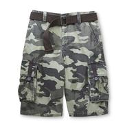 Route 66 Boy's Belt & Cargo Shorts - Camouflage at Kmart.com