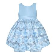 American Princess Newborn Girl's Party Dress & Diaper Cover - Floral & Sequins at Sears.com