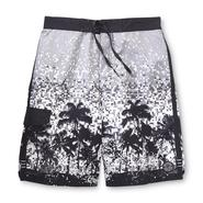Joe Boxer Men's Swim Trunks - Tropical Pixel at Sears.com