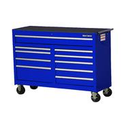 "Craftsman 54"" 10-Drawer Ball Bearing Slides Roller Cabinet, Blue at Craftsman.com"