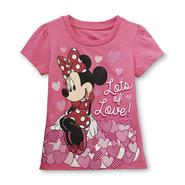 Disney Baby Minnie Mouse Toddler Girl's Valentine's Day T-Shirt at Kmart.com