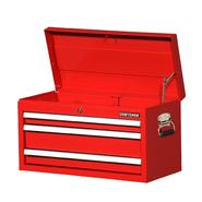 "Craftsman 27"" 3-Drawer Ball Bearing Slides Top Chest Red at Craftsman.com"