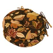 "Greendale Home Fashions 15"" Round Outdoor Bistro Chair Cushion, Set of Two, Timberland Floral at Kmart.com"