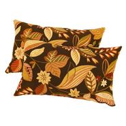 Greendale Home Fashions Rectangle Outdoor Accent Pillows, Set of Two, Timberland Floral at Kmart.com