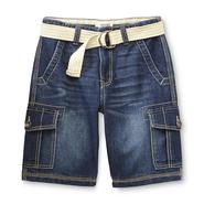 Route 66 Boy's Belted Denim Cargo Shorts at Kmart.com