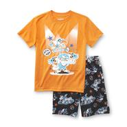 Joe Boxer Boy's Pajama Shirt & Shorts - Alligator & Bird Wrestlers at Kmart.com