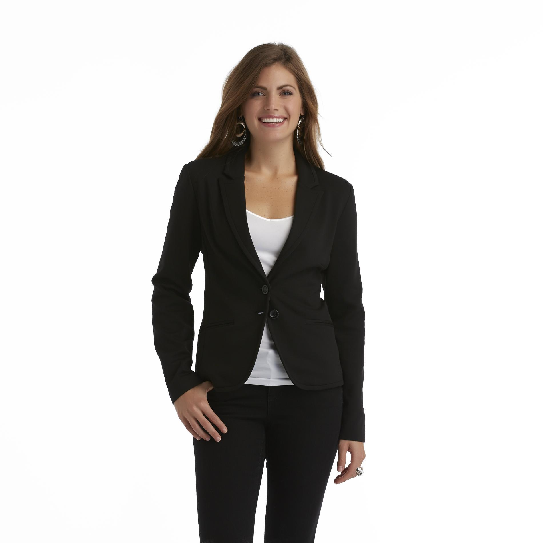 Covington Women's Single-Breasted Knit Blazer at Sears.com
