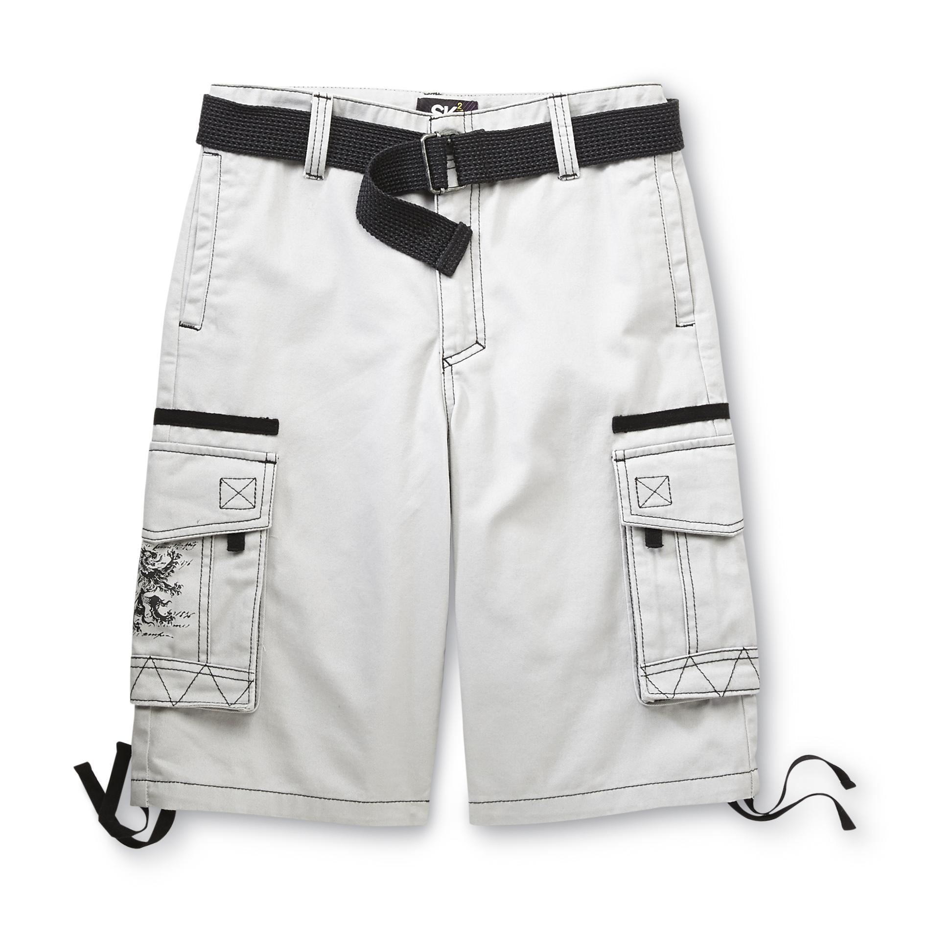 SK2 Boy's Belted Cargo Shorts - Dragon at Kmart.com