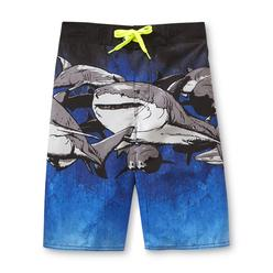 Joe Boxer Boy's Swim Trunks - Shark at Kmart.com