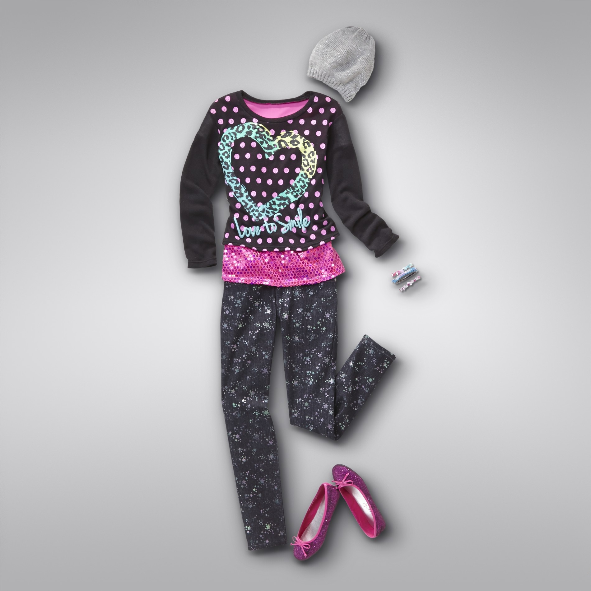 Girl's Love To Smile Outfit at Kmart.com