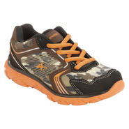 Athletech Boy's Sneaker Sky - Brown/Orange/Camo at Kmart.com