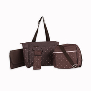 Tender Kisses 5-Piece Diaper Bag Set - Polka Dot at Kmart.com