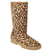 Affinity Women's Boot Cozy - Leopard at Kmart.com