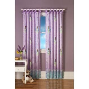 Disney Princess Girl's Window Drape - Tiana