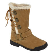 Yoki Girl's Boot Polo - Brown at Kmart.com