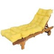 Greendale Home Fashions 72 inch Patio Chaise Lounger Cushion, Canary at Kmart.com
