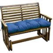 Greendale Home Fashions 46 inch Outdoor Swing/Bench Cushion, Capri Blue at Kmart.com