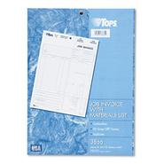 TOPS Job Invoice, Snap-Off Triplicate Form at Kmart.com