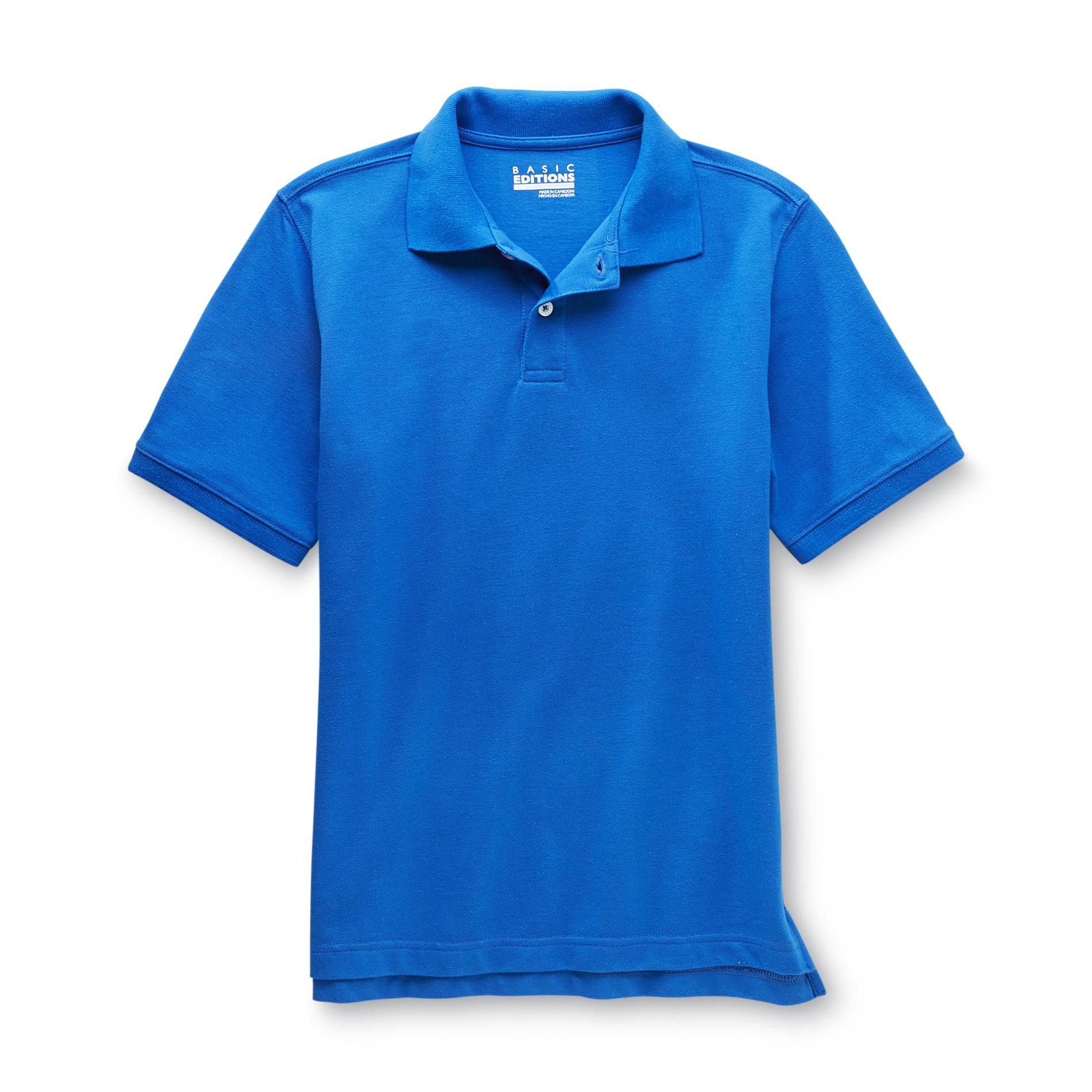 Boy's Polo Shirt - Solid