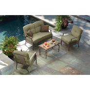 La-Z-Boy Outdoor Parker 4 Piece Seating Set at Kmart.com